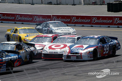 Kurt Busch, Scott Pruett and Jeff Burton