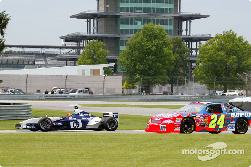 Autotausch: Jeff Gordon & Juan Pablo Montoya