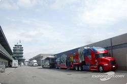 Hendrick Motorsports yarış aracı transporter, Indy