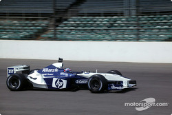 Juan Pablo Montoya his HP Williams-BMW FW24