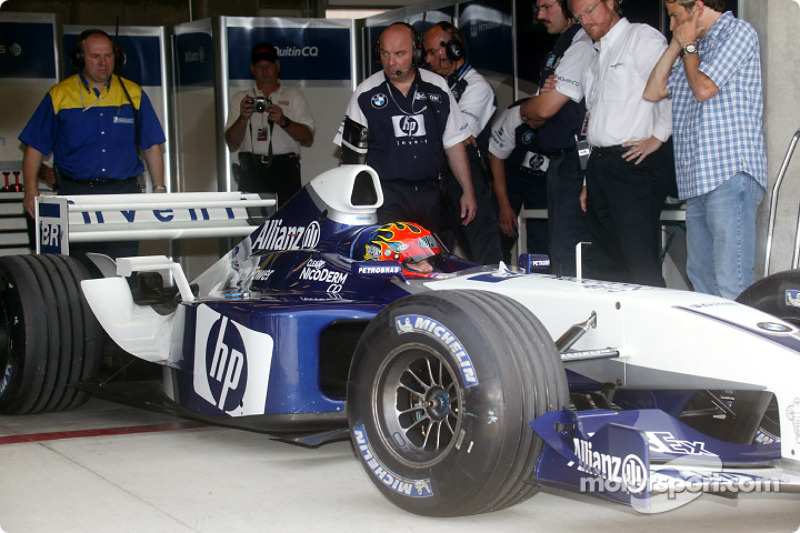 Jeff Gordon im Williams FW24 von Juan Pablo Montoya