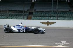 Jeff Gordon, front straightaway, Indianapolis