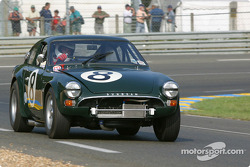 la Lister Sunbeam Tiger n°8 pilotée par Tony Eckford, Chris Beighton