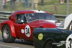 l'AC Cobra n°34 pilotée par Shaun Lynn, Tim Garwood