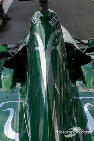 Jaguar en la inspección técnica