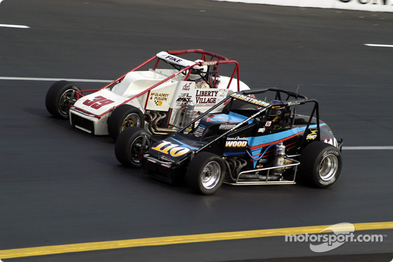 Aaron Fike Quarter Midget Race