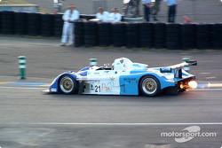 #21 Edouard Sezionale Norma M2000/2-Ford: Edouard Sezionale, Patrice Roussel, Lucas Lasserre