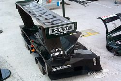 Bentley Speed 8 rear wing