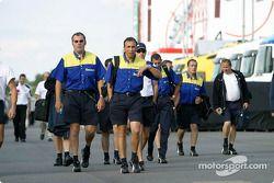 Les membres de Michelin quitte le circuit