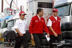 Cristiano da Matta, Ange Pasquali et Olivier Panis quittent le circuit