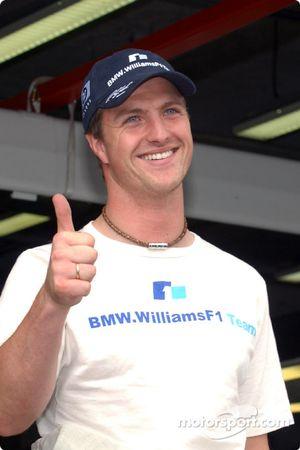 Poleman Ralf Schumacher