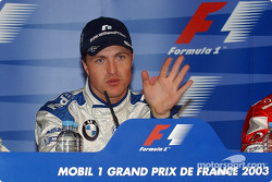 Press conference: pole winner Ralf Schumacher
