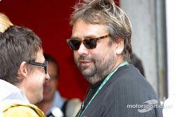 Invité de Ferrari: le réalisateur Luc Besson