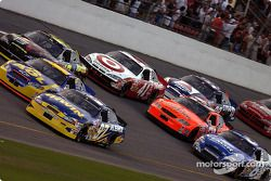 Kurt Busch, Steve Park, Jamie McMurray, Mark Martin, Robby Gordon and Casey Mears