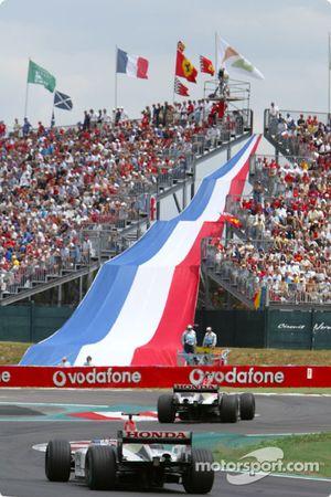 Jacques Villeneuve y Jenson Button