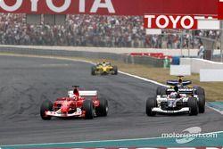 Rubens Barrichello et Jos Verstappen