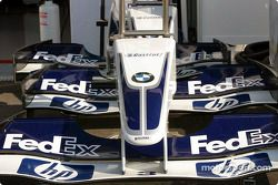 Le nez et l'aileron de la Williams-BMW