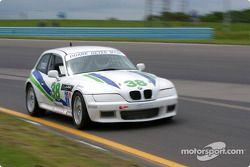la BMW 328 n°38 de l'équipe Duane Neyer Motorsports pilotée par Jim Hamblin, Stewart Tetreault, John