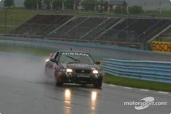 la Nissan Sentra SE-R n°9 du team Archangel / LAMZ pilotée par Curtis Francois, Jeff Tillman, Doug A