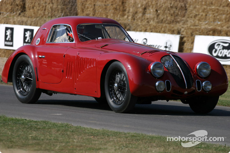 1938 alfa romeo 8c 2900b le mans coupe at goodwood festival of speed. Black Bedroom Furniture Sets. Home Design Ideas