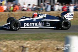 Marc Surer sur la Brabham-BMW BT53 de 1983