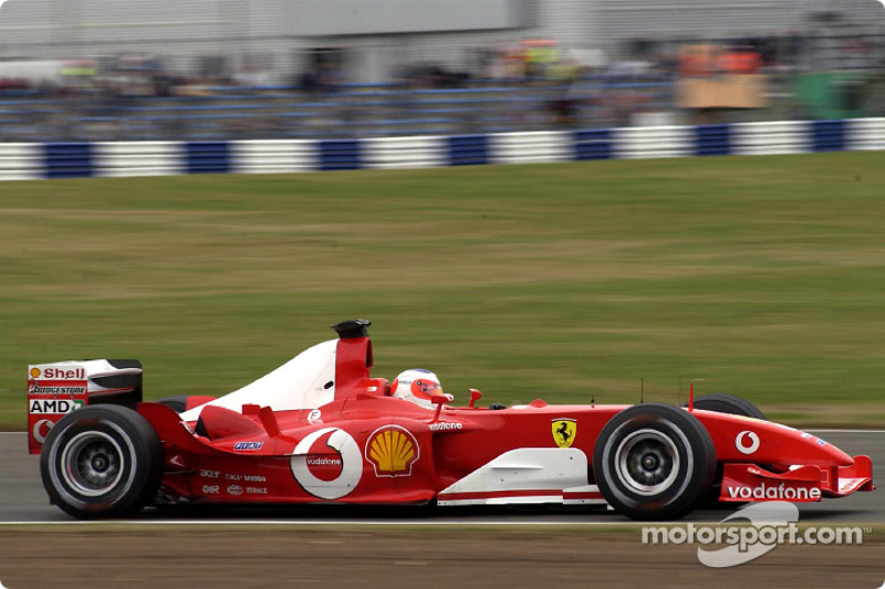 2003: Rubens Barrichello, Ferrari F2003-GA