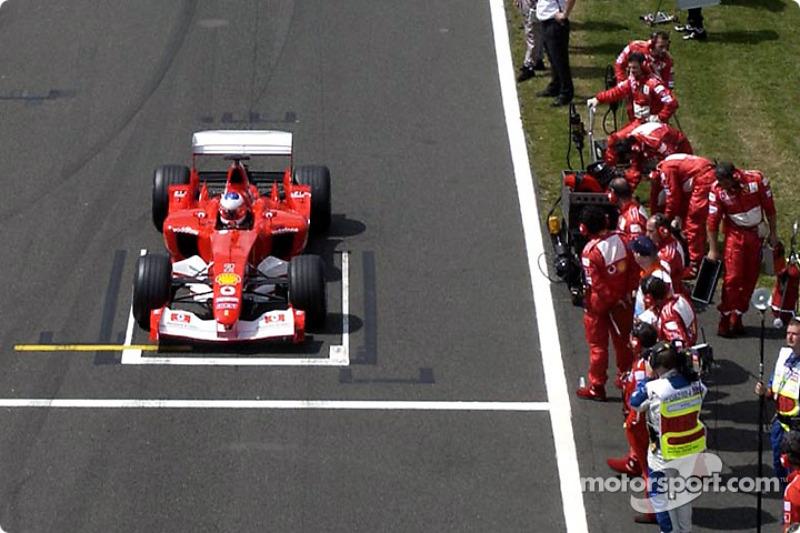 2003: Ferrari, 4º no campeonato (65 pts)