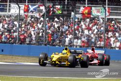 Ralph Firman y Rubens Barrichello