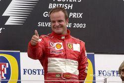 Pódio: Vencedor Rubens Barrichello