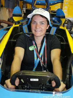 Renault F1 invitada Ellen Macarthur