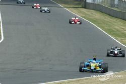 Jarno Trulli y Kimi Raikkonen