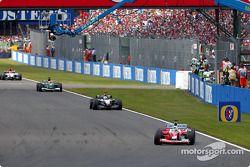 Cristiano da Matta lidera a David Coulthard