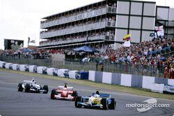 Jarno Trulli lidera a Rubens Barrichello