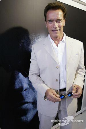 L'acteur principal de Terminator 3 Arnold Schwarzenegger