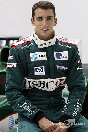 Justin Wilson ve Jaguar F1 Cari after his transfer to Jaguar Racing from Minardi, Jaguar Racing fakt