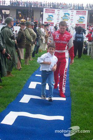 Bill Elliott et son fils