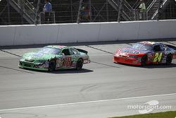 Bobby Labonte y Jeff Gordon