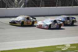 Ward Burton, Johnny Benson and Michael Waltrip