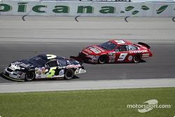 Terry Labonte and Bill Elliott