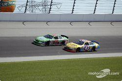 Bobby Labonte y Christian Fittipaldi