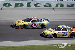 Christian Fittipaldi y Kenny Wallace