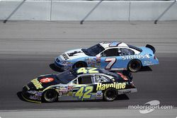Jimmy Spencer et Jamie McMurray