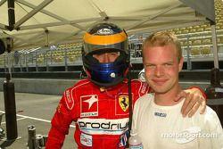 David Brabham et Jan Magnussen sont à nouveau ensemble en American Le Mans Series, pilotant en class