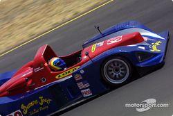 la Riley & Scott MK III C n°30 de l'équipe Intersport Racing pilotée par Clint Field, Rick Sutherlan