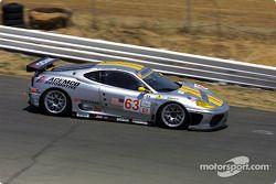 la Ferrari 360 Modena n°63 de l'équipe ACEMCO Motorsports pilotée par Shane Lewis, Terry Borcheller