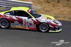 la Porsche 911 GT3 RS n°31 de l'équipe White Lightning Petersen Motorsports pilotée par Johnny Mowle