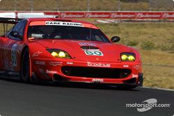 #80 Prodrive Racing Ferrari 550 Maranello: Jan Magnussen, David Brabham
