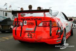 Zac Mazzotta's car got beaten up