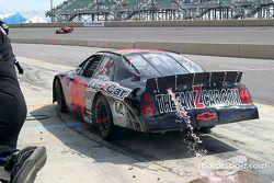 Mike Harmon perd du carburant