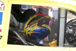 Scott Wimmer's helmet